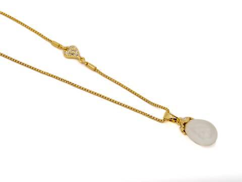 Bilde av 10698 Langt oval perle og hjerte